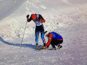Canadian coach helps Russian skier