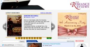 Kjartan the Gentle Romance Reviews